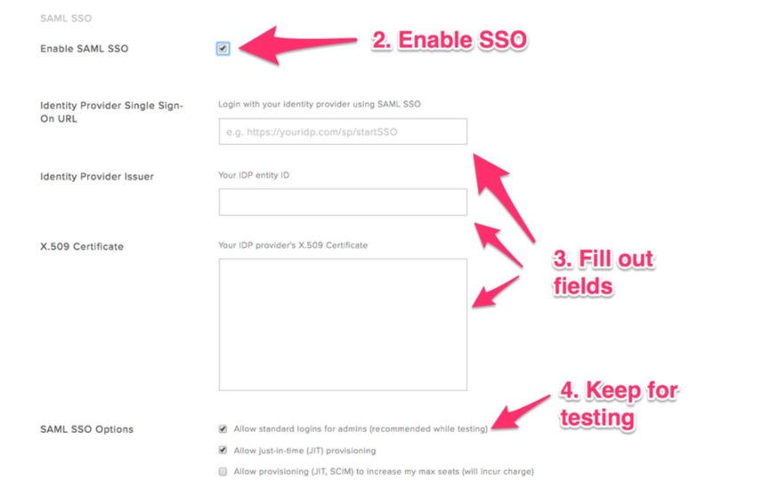 HelloSign SAML SSO Configuration – Help Center