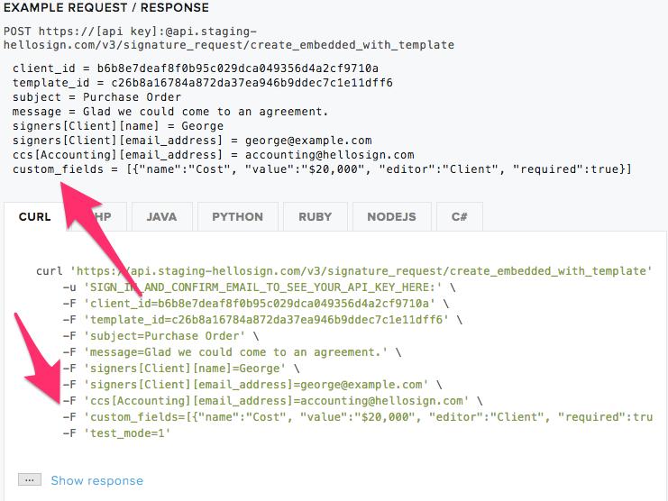 how do i use editable merge fields aka custom fields help center