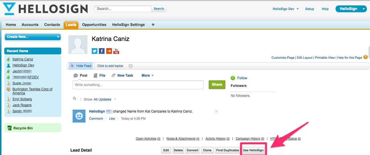How to create a template within Salesforce – Help Center